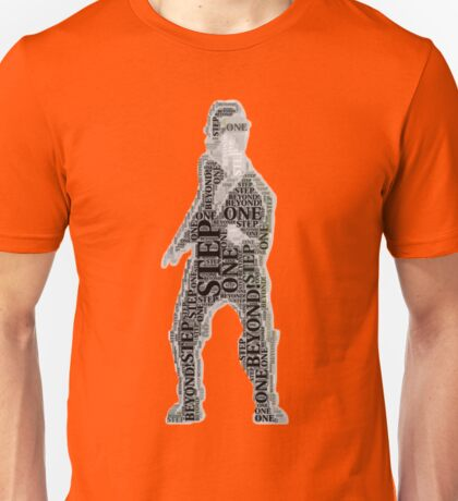 Well listen buster you'd better to start to move your feet Unisex T-Shirt