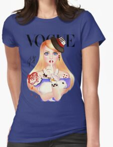 My Name is Alice and this is my Wonderland ( Blue Version) T-Shirt