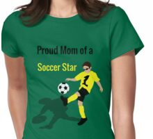 Soccer Boy (Mom) Womens Fitted T-Shirt