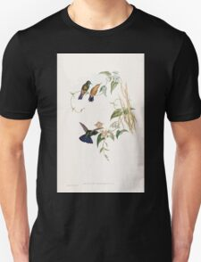 A monograph of the Trochilidæ or family of humming birds by John Gould 1861 V3 328 Metallura Smaragdinicollis T-Shirt