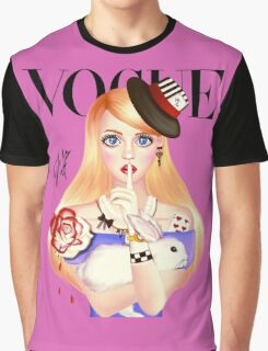 My Name is Alice and this is my Wonderland ( Pink Version) Graphic T-Shirt