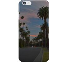 LA Beverly Hills Sunset iPhone Case/Skin