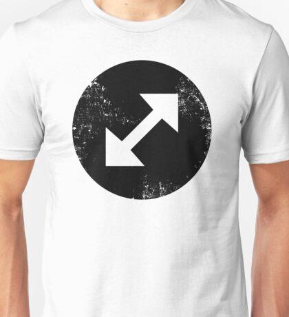 Diagonal Arrows  Unisex T-Shirt