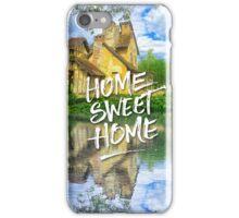 Home Sweet Home Marie-Antoinette Hamlet Cottage Versailles iPhone Case/Skin