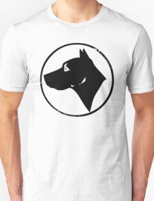 Dog Head (black) Unisex T-Shirt
