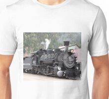 Steam train engine, Silverton, Colorado 1 Unisex T-Shirt