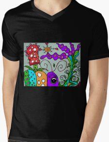 Spring Time In Mo's Garden Mens V-Neck T-Shirt