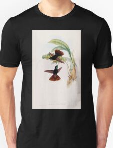 A monograph of the Trochilidæ or family of humming birds by John Gould 1861 V3 308 Metallura Cupreicauda T-Shirt