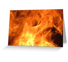Born from Flames Greeting Card