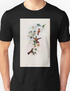 A monograph of the Trochilidæ or family of humming birds by John Gould 1861 V5 108 T-Shirt