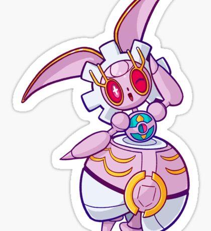 Pokeball Princess Magiana Sticker