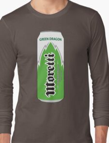 Moretti Green Dragon energy Long Sleeve T-Shirt