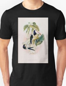 A monograph of the Trochilidæ or family of humming birds by John Gould 1861 V2 014 Eupetoment Hirundinacea T-Shirt