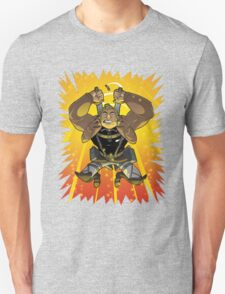 Attack On Samson,brock, samson, venture, bros, cartoon, mashup, anime, attck, titan, parody T-Shirt