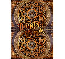 Thunderstruck Palais Garnier Opera Mosaic Tiles Paris France Photographic Print