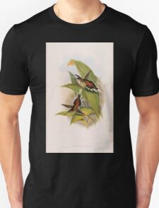 A monograph of the Trochilidæ or family of humming birds by John Gould 1861 V1 252 Phaethornis Pretrei T-Shirt