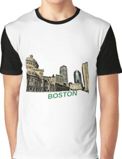 Boston - South End Graphic T-Shirt