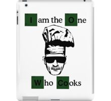 The one who cooks iPad Case/Skin
