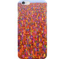 Red metro iPhone Case/Skin