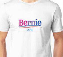 Bernie Sanders Bisexual Flag Logo Unisex T-Shirt