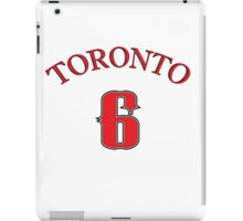 Toronto the 6 iPad Case/Skin