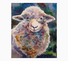 Sheep Watercolor Shearing Ready Unisex T-Shirt