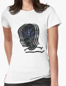 Head/Brain Womens Fitted T-Shirt