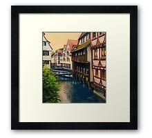 The River Runs Through... Framed Print