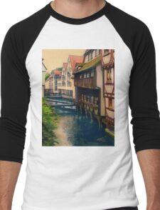 The River Runs Through... Men's Baseball ¾ T-Shirt
