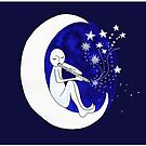 Boy in the moon by goanna