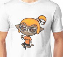 Chibi Inkling Boy (orange) Unisex T-Shirt