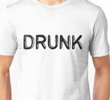 Drunk (embossed) Unisex T-Shirt