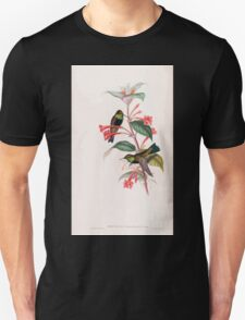 A monograph of the Trochilidæ or family of humming birds by John Gould 1861 V2 134 Oreotrochilus Melanogaster T-Shirt