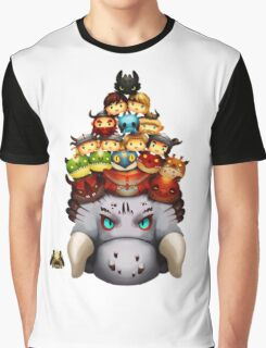 Stack Your Dragons Graphic T-Shirt