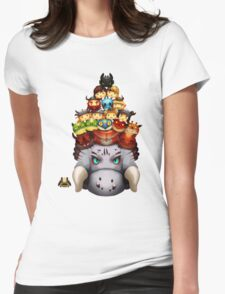 Stack Your Dragons Womens Fitted T-Shirt