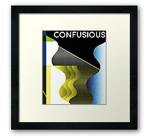 Confusious | Waves  Framed Print