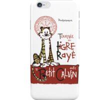 Tigre Raye iPhone Case/Skin
