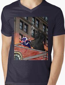 Action Figures #5: Team-Ups Mens V-Neck T-Shirt