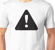 Exclamation Triangle Unisex T-Shirt