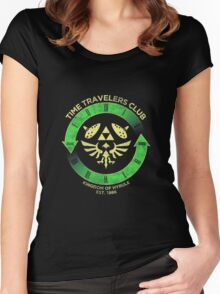 Time Travelers Club Women's Fitted Scoop T-Shirt