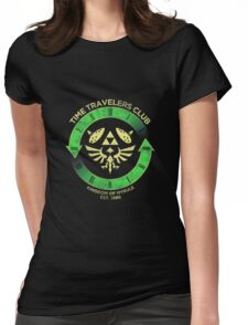 Time Travelers Club Womens Fitted T-Shirt