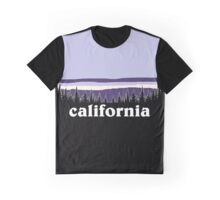 Purple California Graphic T-Shirt