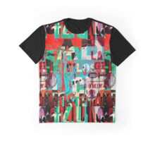Background digital collage or typography design wallpaper texture Graphic T-Shirt