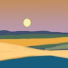 Sunset landscape by goanna