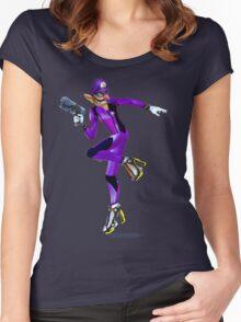 Zero Suit Waluigi Women's Fitted Scoop T-Shirt