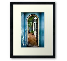 Southern Welcome  Framed Print