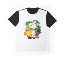 Snoopy Skecth Graphic T-Shirt