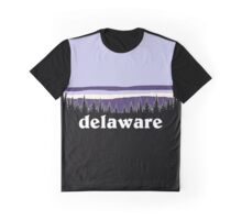 Purple Delaware Graphic T-Shirt
