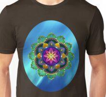 Northern Lights Lotus Unisex T-Shirt