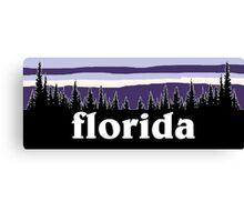 Purple Florida Canvas Print